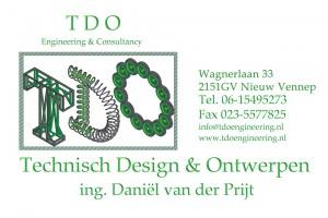 Contact gegevens TDO engineering